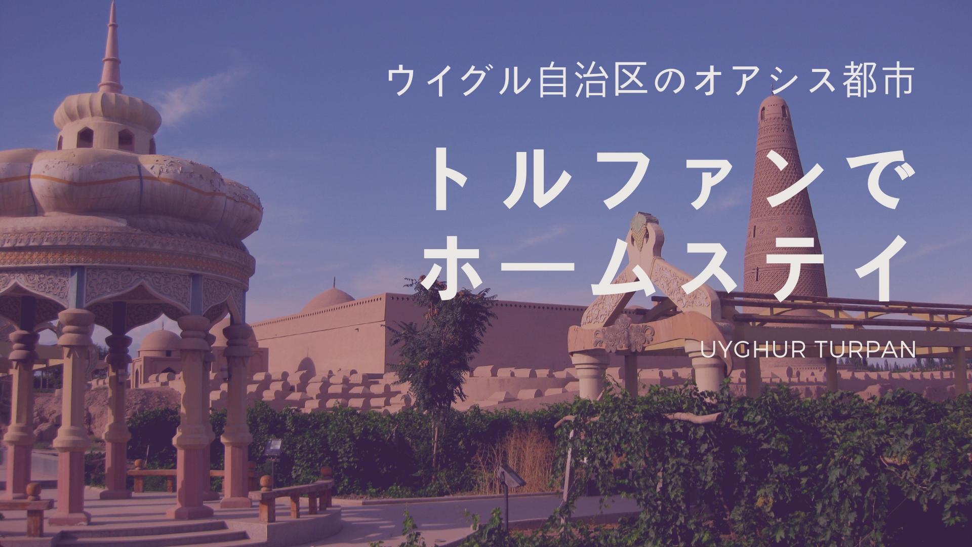 中国 新疆ウイグル自治区旅行記】トルファン ウイグル族宅にホームステイ編